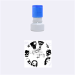 Panic! At The Disco Suicide Squad The Album Rubber Round Stamps (Small) 1.12 x1.12  Stamp