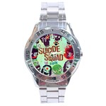 Panic! At The Disco Suicide Squad The Album Stainless Steel Analogue Watch Front