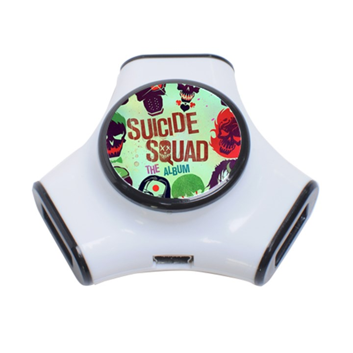 Panic! At The Disco Suicide Squad The Album 3-Port USB Hub