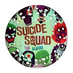 Panic! At The Disco Suicide Squad The Album Round Filigree Ornament (2Side) Back