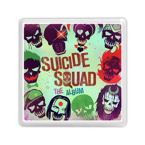 Panic! At The Disco Suicide Squad The Album Memory Card Reader (Square)