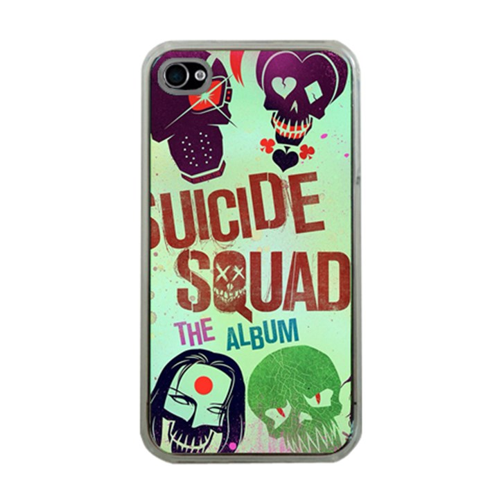 Panic! At The Disco Suicide Squad The Album Apple iPhone 4 Case (Clear)
