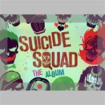 Panic! At The Disco Suicide Squad The Album Deluxe Canvas 18  x 12   18  x 12  x 1.5  Stretched Canvas