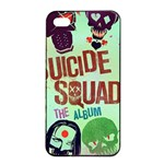 Panic! At The Disco Suicide Squad The Album Apple iPhone 4/4s Seamless Case (Black) Front