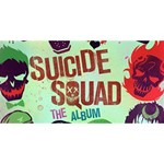 Panic! At The Disco Suicide Squad The Album Twin Heart Bottom 3D Greeting Card (8x4) Back