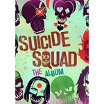 Panic! At The Disco Suicide Squad The Album WORK HARD 3D Greeting Card (7x5) Inside