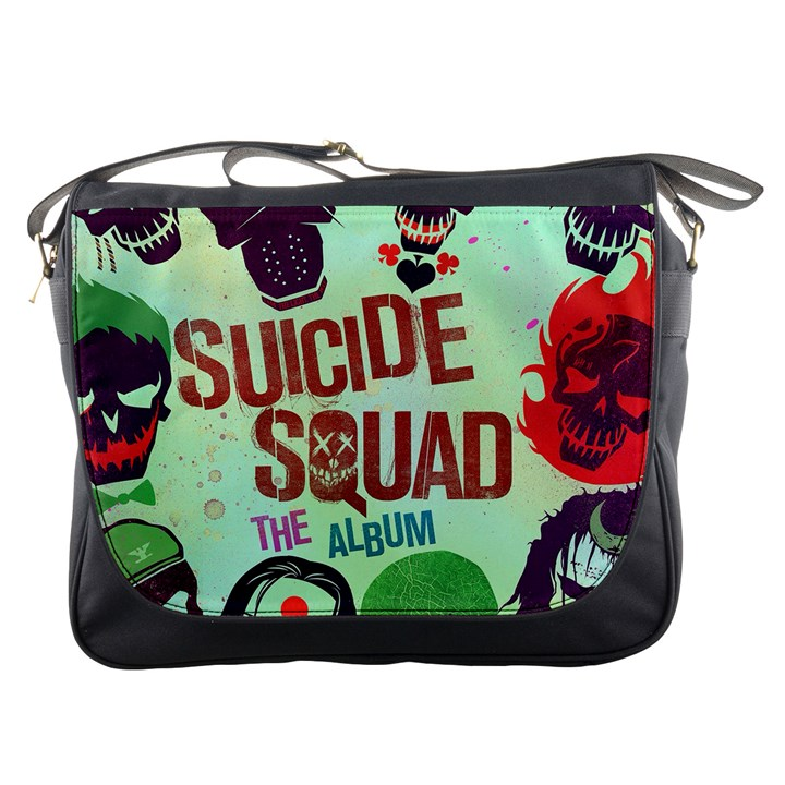 Panic! At The Disco Suicide Squad The Album Messenger Bags