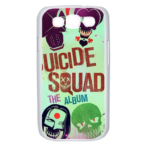 Panic! At The Disco Suicide Squad The Album Samsung Galaxy S III Case (White)