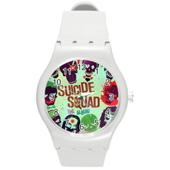 Panic! At The Disco Suicide Squad The Album Round Plastic Sport Watch (M)