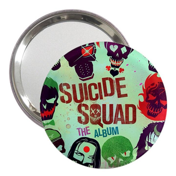 Panic! At The Disco Suicide Squad The Album 3  Handbag Mirrors