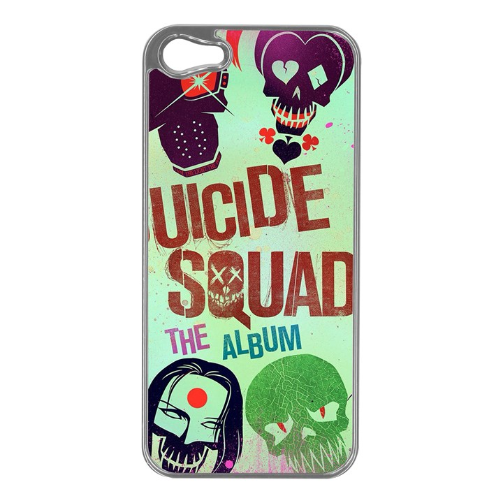Panic! At The Disco Suicide Squad The Album Apple iPhone 5 Case (Silver)
