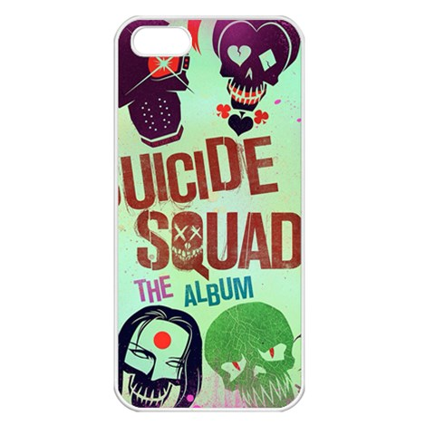 Panic! At The Disco Suicide Squad The Album Apple iPhone 5 Seamless Case (White)