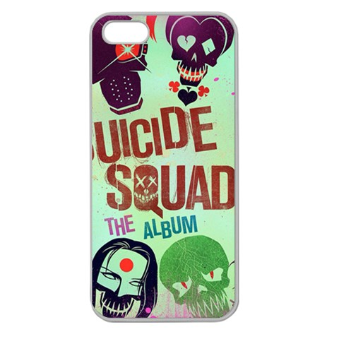 Panic! At The Disco Suicide Squad The Album Apple Seamless iPhone 5 Case (Clear)