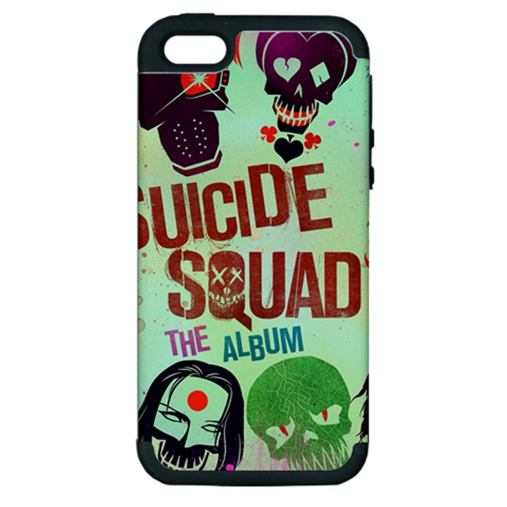 Panic! At The Disco Suicide Squad The Album Apple iPhone 5 Hardshell Case (PC+Silicone)