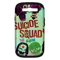 Panic! At The Disco Suicide Squad The Album Samsung Galaxy S III Hardshell Case (PC+Silicone)