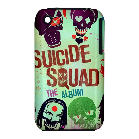 Panic! At The Disco Suicide Squad The Album Apple iPhone 3G/3GS Hardshell Case (PC+Silicone)