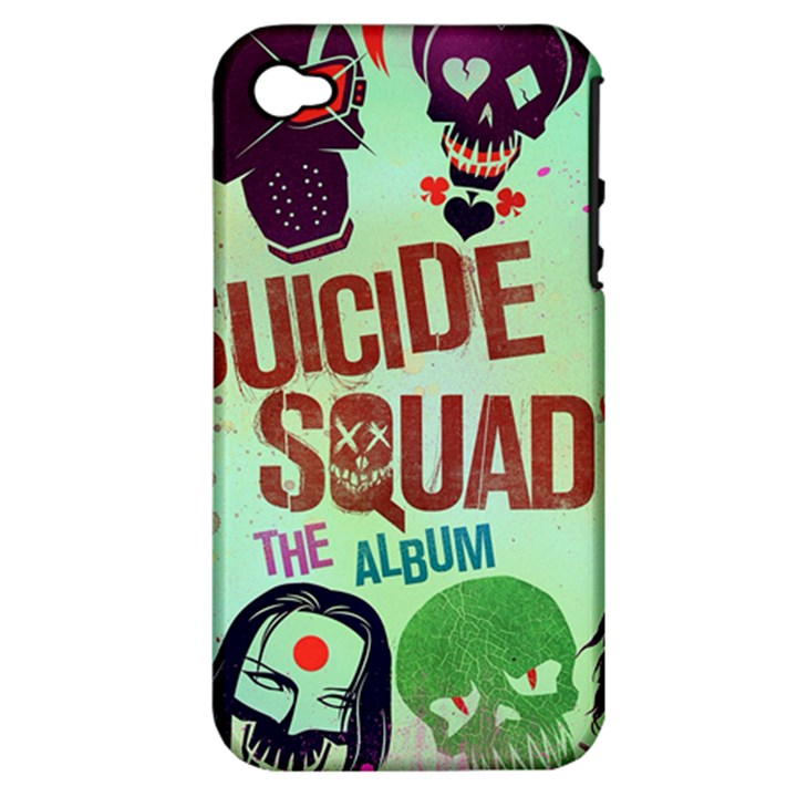Panic! At The Disco Suicide Squad The Album Apple iPhone 4/4S Hardshell Case (PC+Silicone)