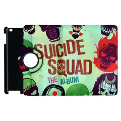 Panic! At The Disco Suicide Squad The Album Apple Ipad 2 Flip 360 Case
