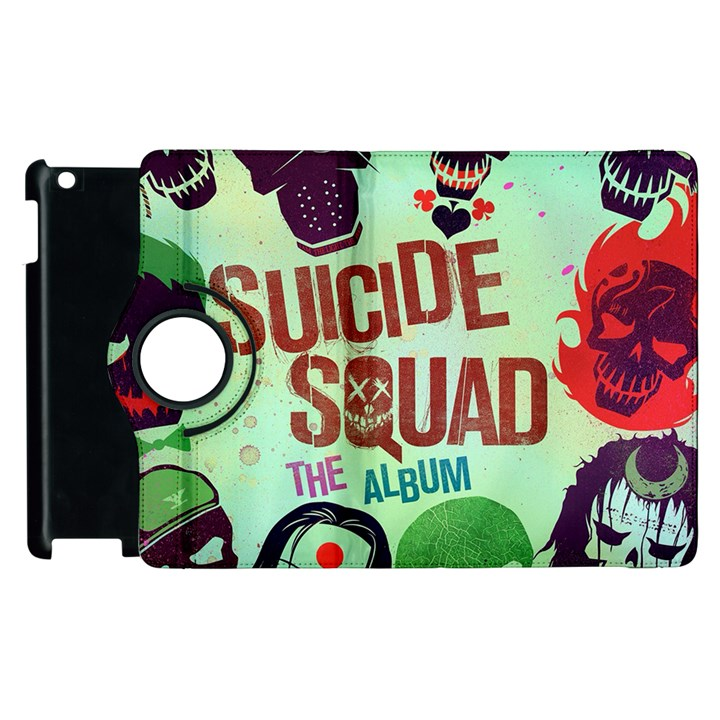 Panic! At The Disco Suicide Squad The Album Apple iPad 3/4 Flip 360 Case
