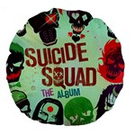 Panic! At The Disco Suicide Squad The Album Large 18  Premium Round Cushions Back