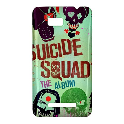 Panic! At The Disco Suicide Squad The Album HTC One SU T528W Hardshell Case