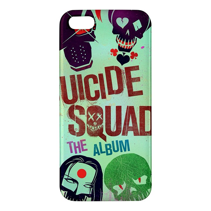 Panic! At The Disco Suicide Squad The Album Apple iPhone 5 Premium Hardshell Case