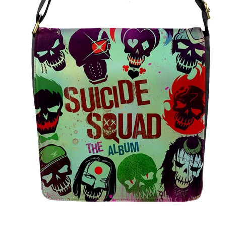 Panic! At The Disco Suicide Squad The Album Flap Messenger Bag (L)