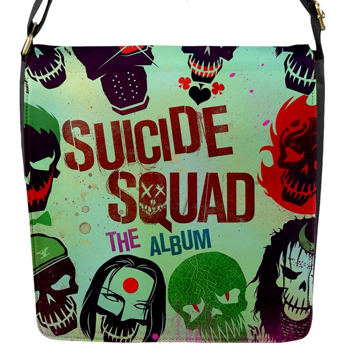 Panic! At The Disco Suicide Squad The Album Flap Messenger Bag (S)
