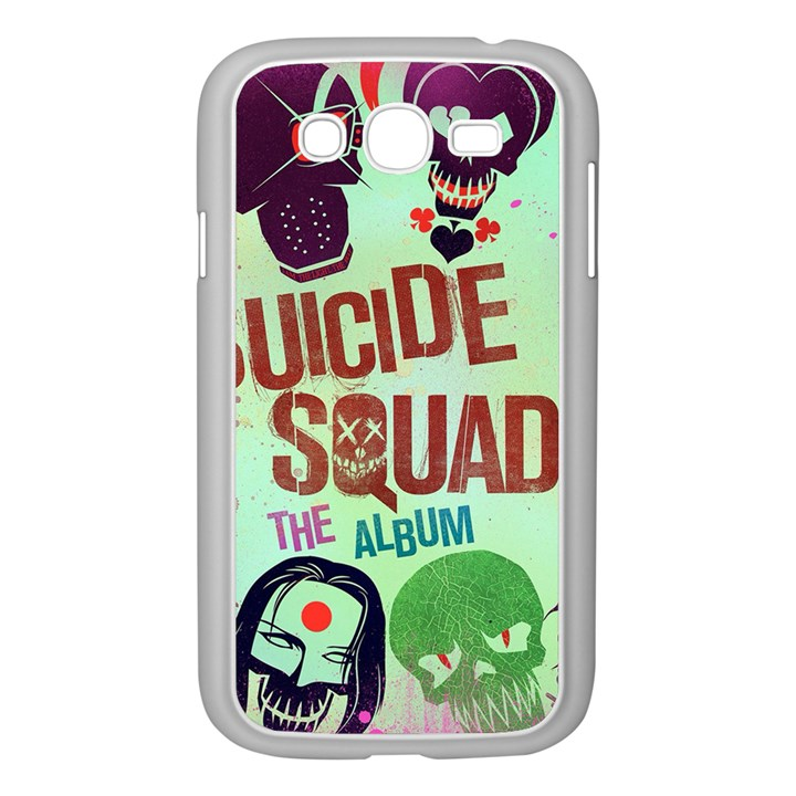 Panic! At The Disco Suicide Squad The Album Samsung Galaxy Grand DUOS I9082 Case (White)