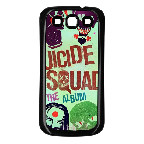 Panic! At The Disco Suicide Squad The Album Samsung Galaxy S3 Back Case (Black)