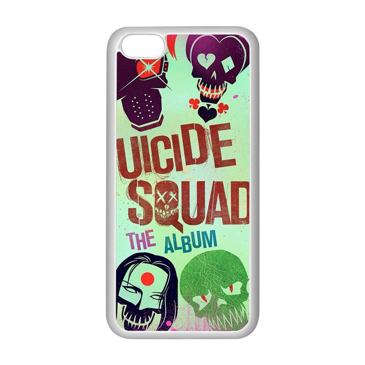 Panic! At The Disco Suicide Squad The Album Apple iPhone 5C Seamless Case (White)