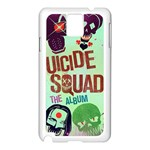 Panic! At The Disco Suicide Squad The Album Samsung Galaxy Note 3 N9005 Case (White) Front