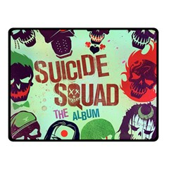 Panic! At The Disco Suicide Squad The Album Double Sided Fleece Blanket (small)