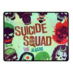 Panic! At The Disco Suicide Squad The Album Double Sided Fleece Blanket (Small)  45 x34 Blanket Back