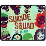 Panic! At The Disco Suicide Squad The Album Double Sided Fleece Blanket (Medium)  60 x50 Blanket Back