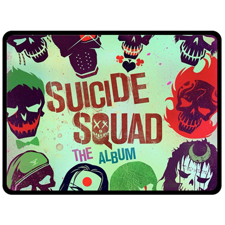 Panic! At The Disco Suicide Squad The Album Double Sided Fleece Blanket (Large)