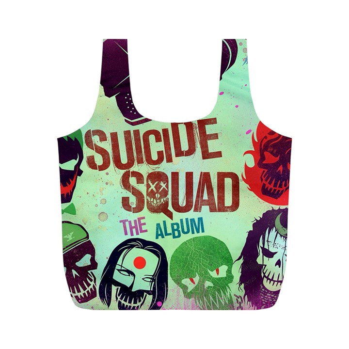 Panic! At The Disco Suicide Squad The Album Full Print Recycle Bags (M)