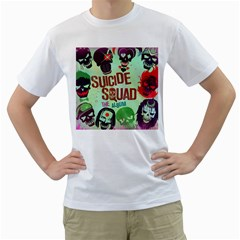 Panic! At The Disco Suicide Squad The Album Men s T-Shirt (White)