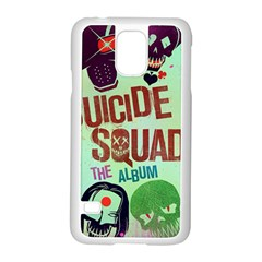 Panic! At The Disco Suicide Squad The Album Samsung Galaxy S5 Case (White)