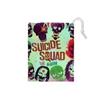 Panic! At The Disco Suicide Squad The Album Drawstring Pouches (Small)  Front