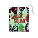 Panic! At The Disco Suicide Squad The Album Drawstring Pouches (Medium)  Front