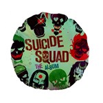 Panic! At The Disco Suicide Squad The Album Standard 15  Premium Flano Round Cushions Front