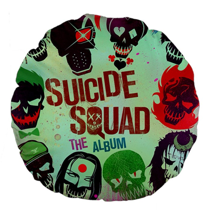 Panic! At The Disco Suicide Squad The Album Large 18  Premium Flano Round Cushions