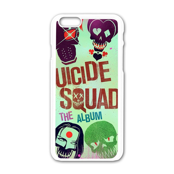 Panic! At The Disco Suicide Squad The Album Apple iPhone 6/6S White Enamel Case