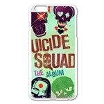 Panic! At The Disco Suicide Squad The Album Apple iPhone 6 Plus/6S Plus Enamel White Case Front