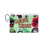Panic! At The Disco Suicide Squad The Album Canvas Cosmetic Bag (S) Front