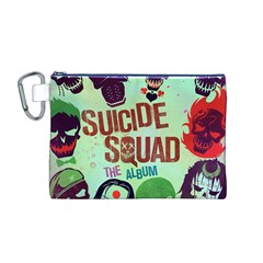 Panic! At The Disco Suicide Squad The Album Canvas Cosmetic Bag (m)