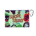 Panic! At The Disco Suicide Squad The Album Canvas Cosmetic Bag (M) Back