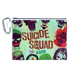 Panic! At The Disco Suicide Squad The Album Canvas Cosmetic Bag (L) Front