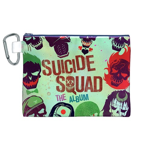 Panic! At The Disco Suicide Squad The Album Canvas Cosmetic Bag (XL)